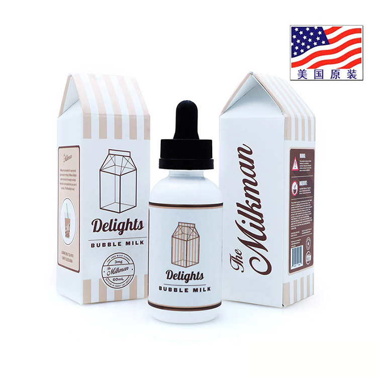 Milkman Delights 牛奶先生 60ml 茉莉奶茶 茉莉牛奶蜂蜜 翰思美油纯进口电子烟油
