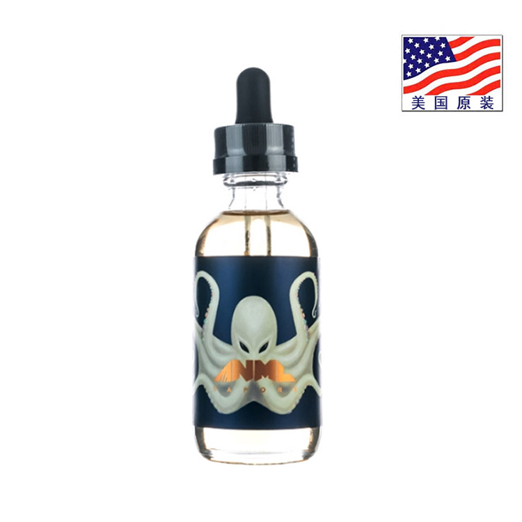 ANML 动物世界 60ml 经典系列 白章鱼 水果谷物牛奶味 翰思美油纯进口电子烟油